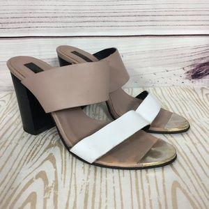 Topshop Block Heel Sandals